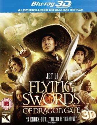 Cliquez ici pour voir LE TEST DE FLYING SWORDS OF DRAGON GATE BLU-RAY 3D