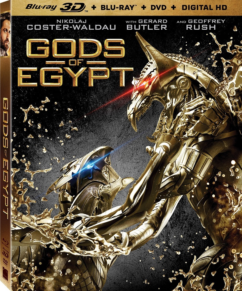 Gods of Egypt Blu-ray 3D