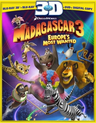 Click here to see THE TEST OF MADAGASCAR 3 BLU-RAY 3D