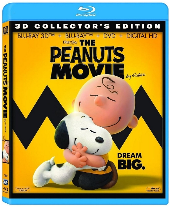 Snoopy et les Peanuts Blu-ray 3D