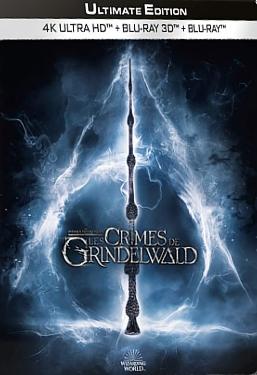 Les Animaux fantastiques 2 : Les Crimes Grindelwald Blu-ray 3D