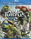 Ninja Turtles 2 Blu-ray 3D