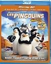 Les Pingouins de Madagascar Blu-ray 3D